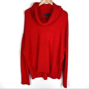 Rachel Zoe Comfy Cowl Neck Sweater XL
